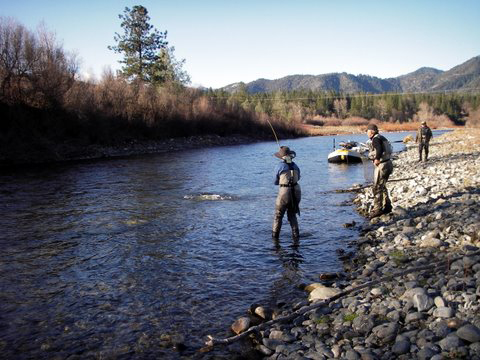 Trinity river adventures northern california fly fishing for Trinity river fishing