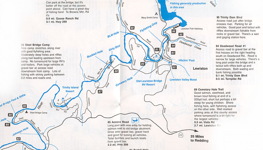 UpperTrinityRiverjpg - Show me the map of california